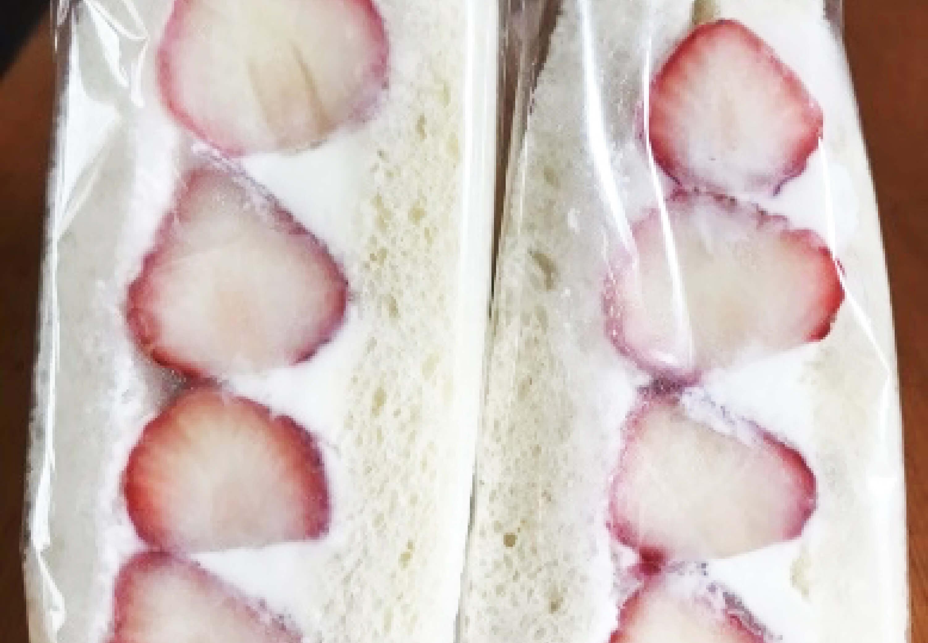 イチゴフルーツサンド